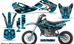Kawasaki KLX110 KX65 Graphics Kit Bolt Thrower BlueIce 150x90 - Kawasaki KX65 2002-2017 Graphics