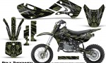 Kawasaki KLX110 KX65 Graphics Kit Bolt Thrower GreenArmy 150x90 - Kawasaki KX65 2002-2017 Graphics