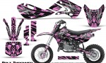 Kawasaki KLX110 KX65 Graphics Kit Bolt Thrower PinkLite 150x90 - Kawasaki KX65 2002-2017 Graphics