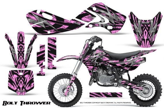 Kawasaki KLX110 KX65 Graphics Kit Bolt Thrower PinkLite 570x376 - Kawasaki KX65 2002-2017 Graphics