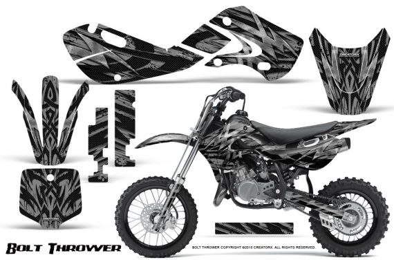 Kawasaki KLX110 KX65 Graphics Kit Bolt Thrower Silver 570x376 - Kawasaki KX65 2002-2017 Graphics