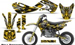 Kawasaki KLX110 KX65 Graphics Kit Bolt Thrower Yellow 1 150x90 - Kawasaki KX65 2002-2017 Graphics