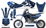 Kawasaki KLX110 KX65 Graphics Kit SpiderX Blue 150x90 - Kawasaki KX65 2002-2017 Graphics