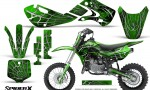 Kawasaki KLX110 KX65 Graphics Kit SpiderX Green 150x90 - Kawasaki KX65 2002-2017 Graphics