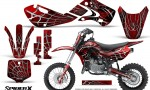 Kawasaki KLX110 KX65 Graphics Kit SpiderX Red 150x90 - Kawasaki KX65 2002-2017 Graphics