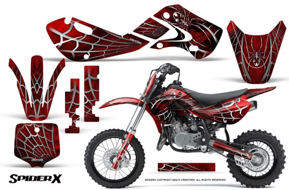 Kawasaki KLX110 KX65 Graphics Kit SpiderX Red 570x376 - Kawasaki KX65 2002-2017 Graphics
