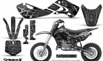 Kawasaki KLX110 KX65 Graphics Kit SpiderX Silver 150x90 - Kawasaki KX65 2002-2017 Graphics