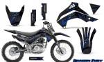 Kawasaki KLX140 08 14 Graphics Kit Dragon Fury Blue Black NP Rims 150x90 - Kawasaki KLX140 2008-2017 Graphics