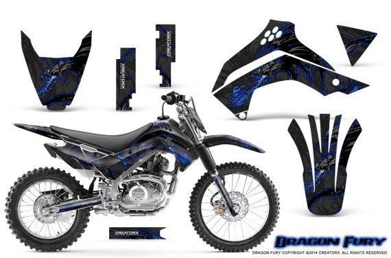 Kawasaki KLX140 08 14 Graphics Kit Dragon Fury Blue Black NP Rims 570x376 - Kawasaki KLX140 2008-2017 Graphics