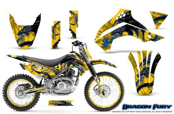 Kawasaki KLX140 08 14 Graphics Kit Dragon Fury Blue Yellow NP Rims 570x376 - Kawasaki KLX140 2008-2017 Graphics