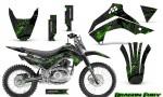 Kawasaki KLX140 08 14 Graphics Kit Dragon Fury Green Black NP Rims 150x90 - Kawasaki KLX140 2008-2017 Graphics