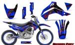 Kawasaki KLX140 08 14 Graphics Kit Dragon Fury Red Blue NP Rims 150x90 - Kawasaki KLX140 2008-2017 Graphics