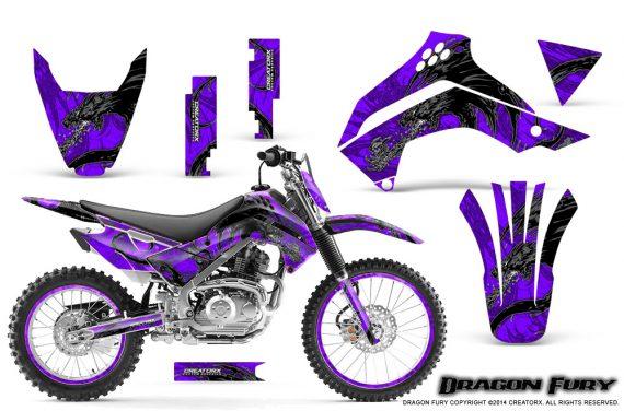 Kawasaki KLX140 08 14 Graphics Kit Dragon Fury Silver Purple NP Rims 570x376 - Kawasaki KLX140 2008-2017 Graphics