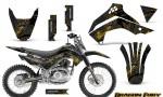 Kawasaki KLX140 08 14 Graphics Kit Dragon Fury Yellow Black NP Rims 150x90 - Kawasaki KLX140 2008-2017 Graphics