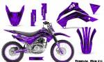 Kawasaki KLX140 08 16 Graphics Kit Tribal Bolts Purple NP Rims 150x90 - Kawasaki KLX140 2008-2017 Graphics