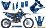 Kawasaki KX85 KX100 01 13 CreatorX Graphics Kit Backdraft Blue NP Rims 150x90 - Kawasaki KX85 KX100 2001-2013 Graphics
