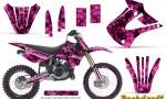 Kawasaki KX85 KX100 01 13 CreatorX Graphics Kit Backdraft Pink NP Rims 150x90 - Kawasaki KX85 KX100 2001-2013 Graphics