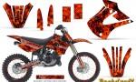 Kawasaki KX85 KX100 01 13 CreatorX Graphics Kit Backdraft Red NP Rims 150x90 - Kawasaki KX85 KX100 2001-2013 Graphics
