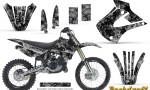 Kawasaki KX85 KX100 01 13 CreatorX Graphics Kit Backdraft Silver NP Rims 150x90 - Kawasaki KX85 KX100 2001-2013 Graphics