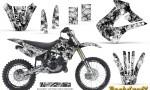 Kawasaki KX85 KX100 01 13 CreatorX Graphics Kit Backdraft White NP Rims 150x90 - Kawasaki KX85 KX100 2001-2013 Graphics