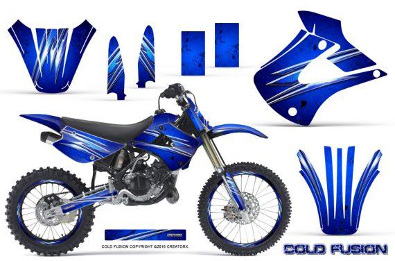 Kawasaki KX85 KX100 01 13 CreatorX Graphics Kit Cold Fusion Blue NP Rims 570x376 - Kawasaki KX85 KX100 2001-2013 Graphics