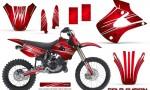 Kawasaki KX85 KX100 01 13 CreatorX Graphics Kit Cold Fusion Red NP 150x90 - Kawasaki KX85 KX100 2001-2013 Graphics