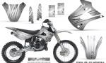 Kawasaki KX85 KX100 01 13 CreatorX Graphics Kit Cold Fusion White NP Rims 150x90 - Kawasaki KX85 KX100 2001-2013 Graphics