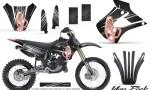 Kawasaki KX85 KX100 01 13 CreatorX Graphics Kit You Rock Black NP Rims 150x90 - Kawasaki KX85 KX100 2001-2013 Graphics