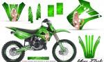 Kawasaki KX85 KX100 01 13 CreatorX Graphics Kit You Rock Green NP Rims 150x90 - Kawasaki KX85 KX100 2001-2013 Graphics