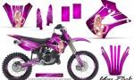 Kawasaki KX85 KX100 01 13 CreatorX Graphics Kit You Rock Pink NP Rims 150x90 - Kawasaki KX85 KX100 2001-2013 Graphics