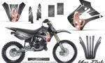Kawasaki KX85 KX100 01 13 CreatorX Graphics Kit You Rock Silver NP Rims 150x90 - Kawasaki KX85 KX100 2001-2013 Graphics