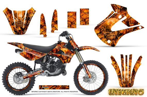 Kawasaki KX85 KX100 01 13 Inferno Orange NP Rims 570x376 - Kawasaki KX85 KX100 2001-2013 Graphics
