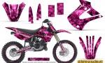 Kawasaki KX85 KX100 01 13 Inferno Pink NP Rims 150x90 - Kawasaki KX85 KX100 2001-2013 Graphics