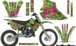 Kawasaki KX 80 100 95 97 Graphics Kit Butterflies PG NPs 150x90 - Kawasaki KX80 KX100 1995-1997 Graphics