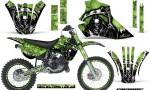 Kawasaki KX 80 100 95 97 Graphics Kit Reaper G NPs 150x90 - Kawasaki KX80 KX100 1995-1997 Graphics