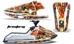 Kawi JetSki X2 AMR Graphics Kit FS W 150x90 - Kawasaki X2 650 Jet Ski 1986-1995 Graphics