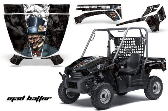 MadHatter Black Whitestripe Teryx 2010 Install 570x376 - Kawasaki Teryx 750 2007-2009 Graphics