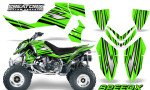 Outlaw 500 06 08 CreatorX Graphics Kit SpeedX Black Green 150x90 - Polaris Outlaw 450/500/525 2006-2008 Graphics