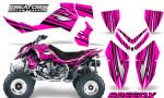 Outlaw 500 06 08 CreatorX Graphics Kit SpeedX Black Pink 150x90 - Polaris Outlaw 450/500/525 2006-2008 Graphics