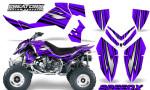 Outlaw 500 06 08 CreatorX Graphics Kit SpeedX Black Purple 150x90 - Polaris Outlaw 450/500/525 2006-2008 Graphics