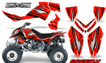 Outlaw 500 06 08 CreatorX Graphics Kit SpeedX Black Red 150x90 - Polaris Outlaw 450/500/525 2006-2008 Graphics