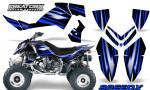Outlaw 500 06 08 CreatorX Graphics Kit SpeedX Blue Black 150x90 - Polaris Outlaw 450/500/525 2006-2008 Graphics