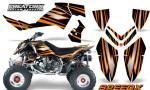 Outlaw 500 06 08 CreatorX Graphics Kit SpeedX Orange Black 150x90 - Polaris Outlaw 450/500/525 2006-2008 Graphics