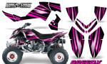 Outlaw 500 06 08 CreatorX Graphics Kit SpeedX Pink Black 150x90 - Polaris Outlaw 450/500/525 2006-2008 Graphics