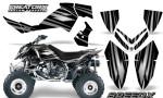 Outlaw 500 06 08 CreatorX Graphics Kit SpeedX Silver Black 150x90 - Polaris Outlaw 450/500/525 2006-2008 Graphics
