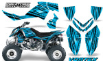Outlaw 500 06 08 CreatorX Graphics Kit Vortex Black BlueIce 150x90 - Polaris Outlaw 450/500/525 2006-2008 Graphics