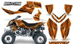 Outlaw 500 06 08 CreatorX Graphics Kit Vortex Black Orange 150x90 - Polaris Outlaw 450/500/525 2006-2008 Graphics