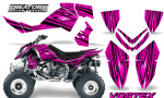 Outlaw 500 06 08 CreatorX Graphics Kit Vortex Black Pink 150x90 - Polaris Outlaw 450/500/525 2006-2008 Graphics
