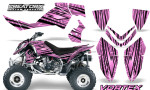 Outlaw 500 06 08 CreatorX Graphics Kit Vortex Black PinkLite 150x90 - Polaris Outlaw 450/500/525 2006-2008 Graphics