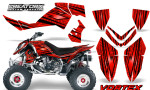 Outlaw 500 06 08 CreatorX Graphics Kit Vortex Black Red 150x90 - Polaris Outlaw 450/500/525 2006-2008 Graphics